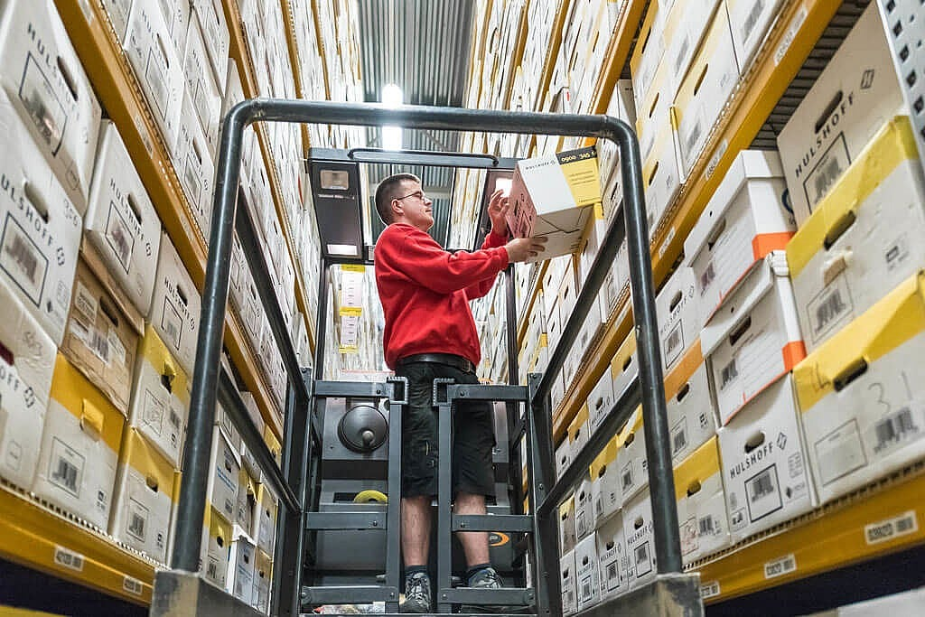 Logistieke medewerker uitzendbureau Wiver